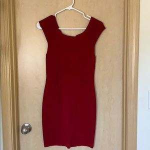Guess by Marciano red bodycon dress!